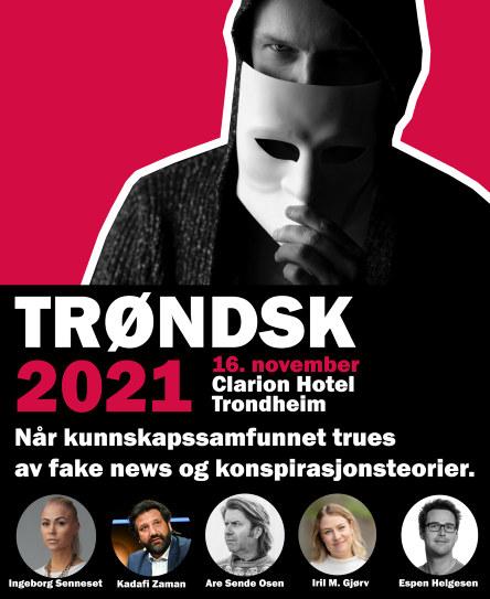 Plakat Trøndsk 2021