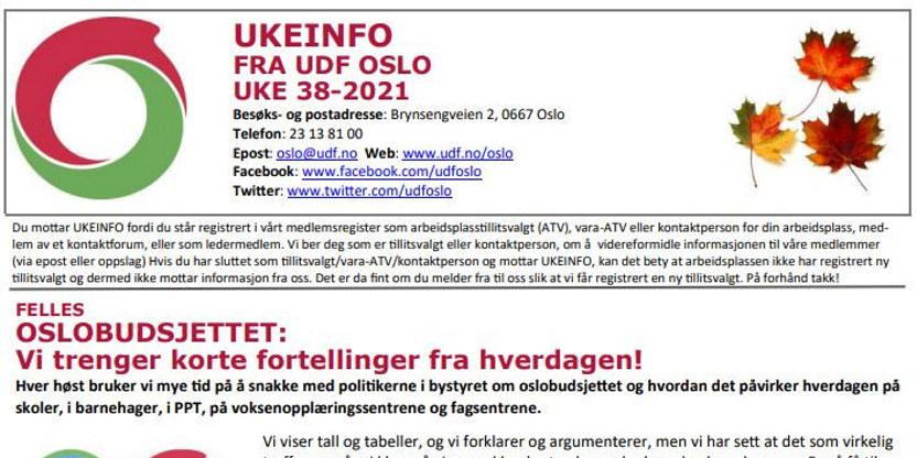 UKEINFO 38-2021